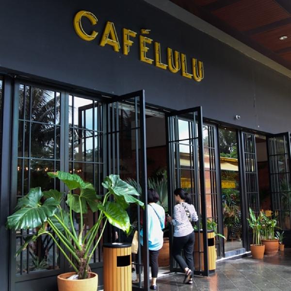Nuansa Tropis di Cafelulu Kemang