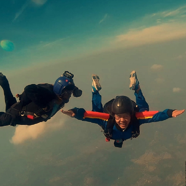 Nusawiru, Spot Alternatif untuk Skydiving