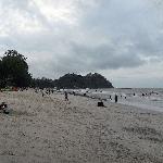Pantai Tanjung Leman Johor Malaysia, Tempat Rehat Sejenak dari Hiruk Pikuk Kota