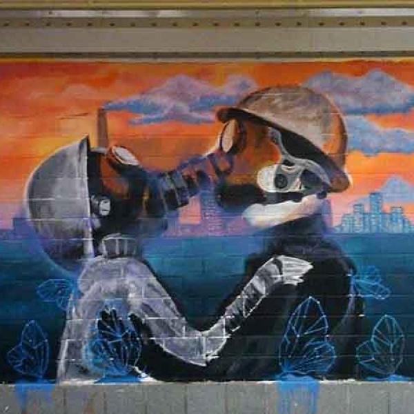 Tunnel Art, Tempat Berfoto Wajib di Singapura