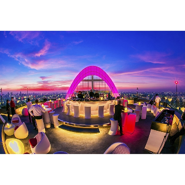 Pergi Ke Thailand, Wajib Datang ke Bar Terbaik di Dunia Ini