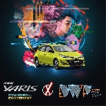 Toyota Yaris Ikut Ramaikan Djakarta Warehouse Project