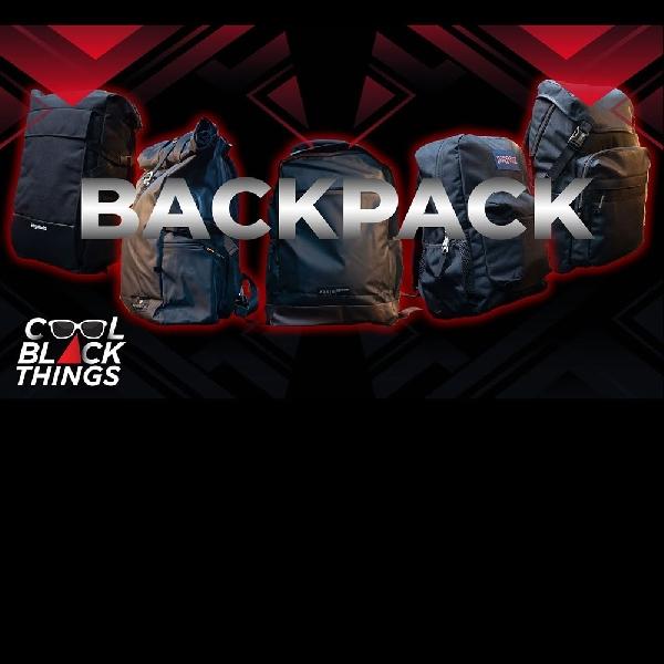 5 Black Backpack For Trendy Look