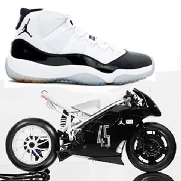 Sepatu Air Jordan XI Concord Lahirkan Modifikasi Ducati 916