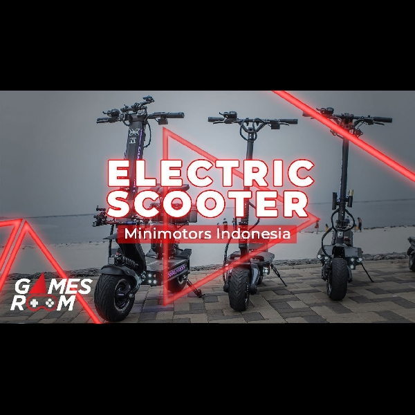 Electric Scooter with Minimotors Indonesia