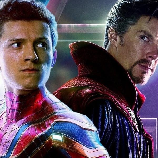 Spider-Man dan Doctor Strange Terlihat Bekerja Sama dalam Promo Art Spider-Man: No Way Home