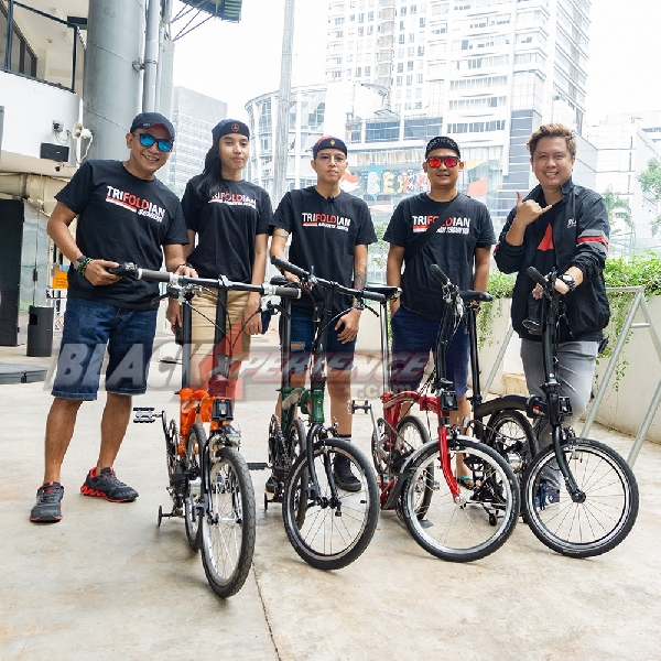 Cycling Safety Riding with Trifold Owners Community