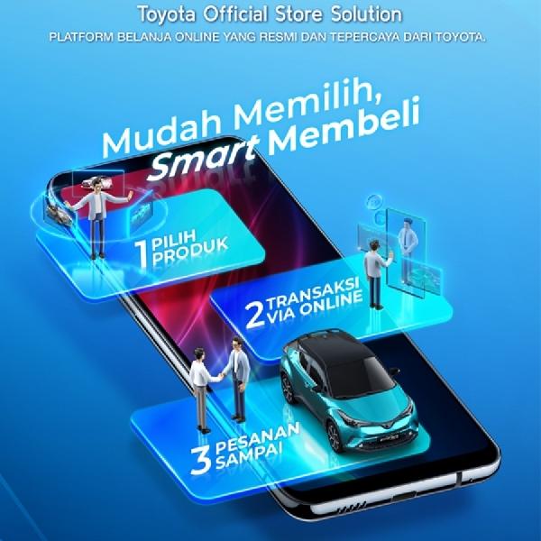 Toyota Permudah Akses Kepemilikan Mobil, Tukar Tambah dan Aksesoris Melalui Platform Digital