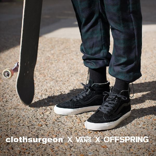 Ini Dia Kolaborasi Vans x Offspring x Clothsurgeon