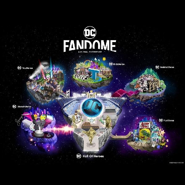 Warner Bros Undang Penggemar Global Ikut DC FanDome