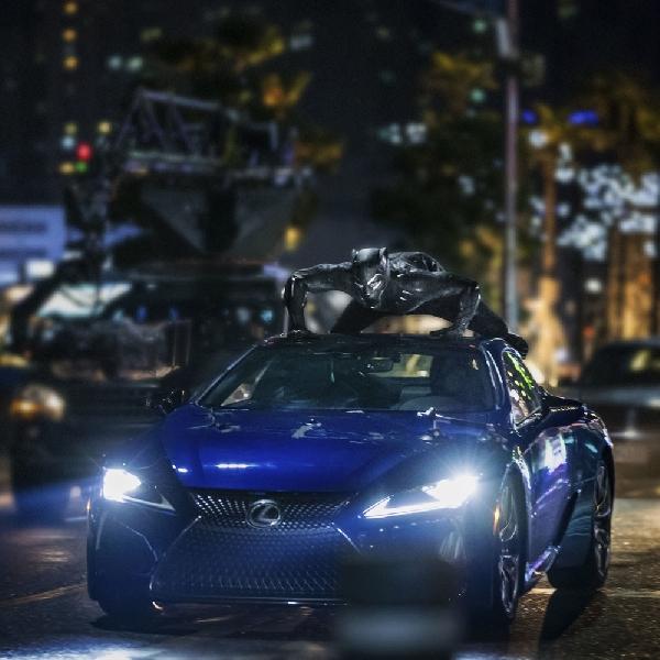 Gandeng Lexus, Black Panther Bakal Ditemani Sedan Mewah LC 500