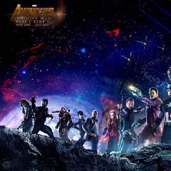 Bakal Banyak Superhero Kumpul Di Avengers: Infinity War