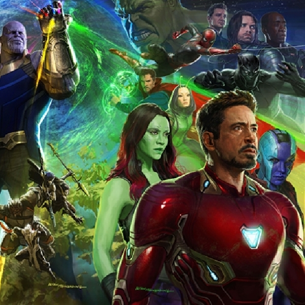 Cuplikan Adegan Film Avengers: Infinity War Bocor di Dunia Maya