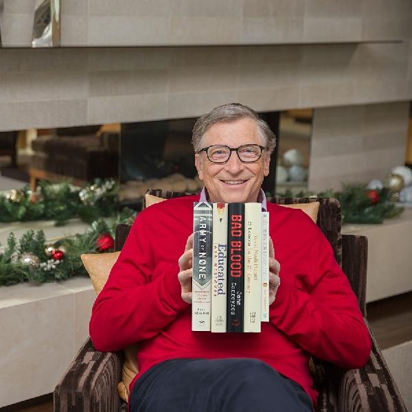 Inilah 5 Rekomendasi Buku Bagi Kesuksesan Dari Bill Gates