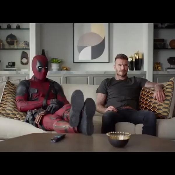 Deadpool Minta Maaf Ke David Beckham