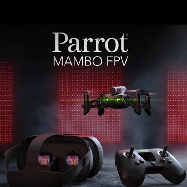 Usir Rasa Bosan Saat di Rumah Dengan Bermain Drone Parrot Mambo Fly