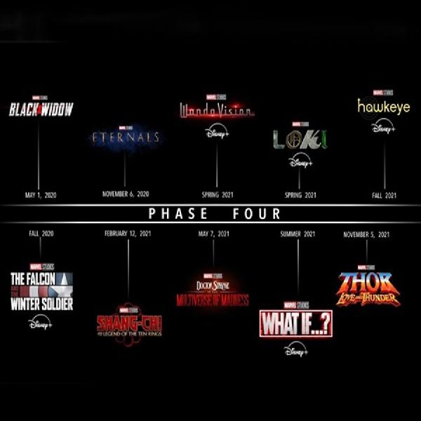 Catat! Film Marvel Universe Phase 4 Sudah Miliki Tanggal Rilis