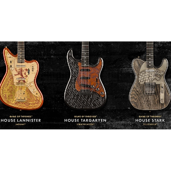 Fender Rilis Koleksi Gitar Bertema Game of Thrones
