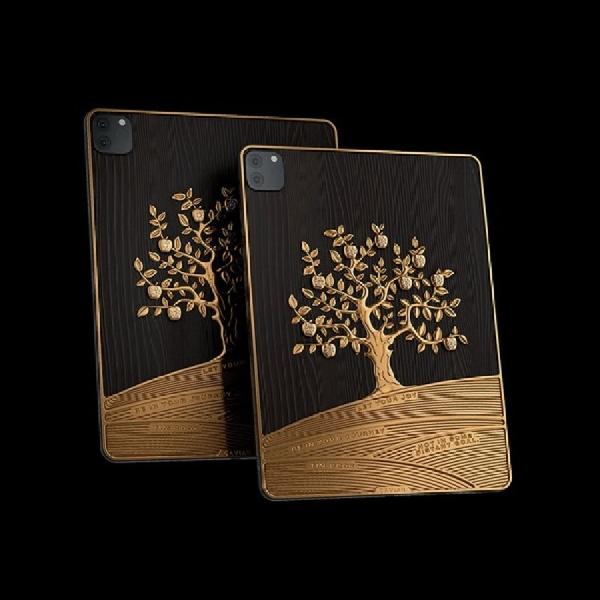 Menakjubkan! Lihat Kemewahan iPad Pro Berhiaskan Emas 1 Kg dan 81 Berlian