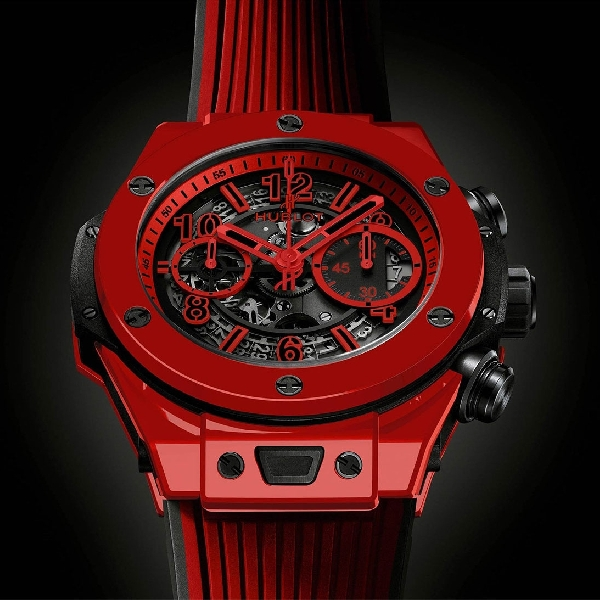 Big Bang Unico Red Magic, Arloji Mewah Nan Meriah Garapan Hublot