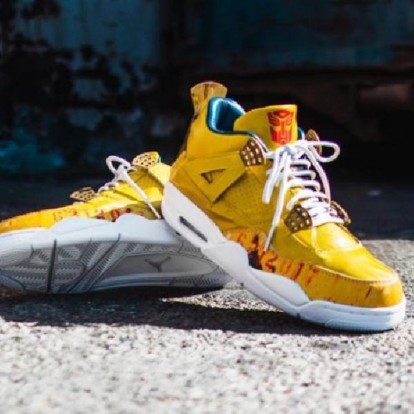 Ini Sepatu Jordan Edisi Khusus Transformer, Hanya Satu Di dunia