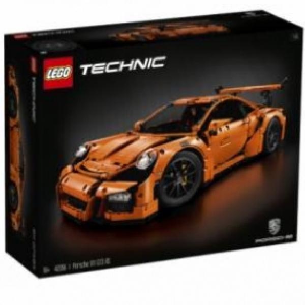Lego Bangun Porsche 911 GT3 RS Sama dengan Aslinya