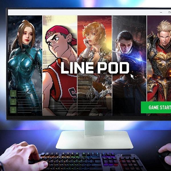 LINE POD, Platform PC Gaming Baru Kaya Koleksi Game