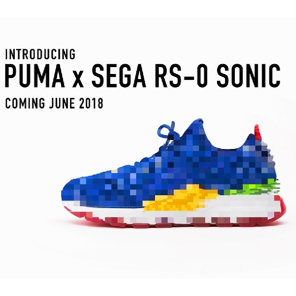 Mengintip Siluet Sneaker Kolaborasi SEGA dan PUMA