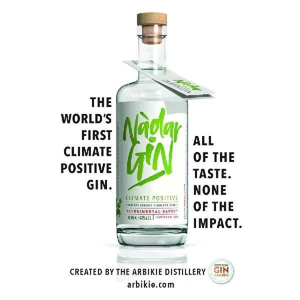 Nadar Vodka, Produk Baru Arbikie Berbahan Dasar Kacang Polong