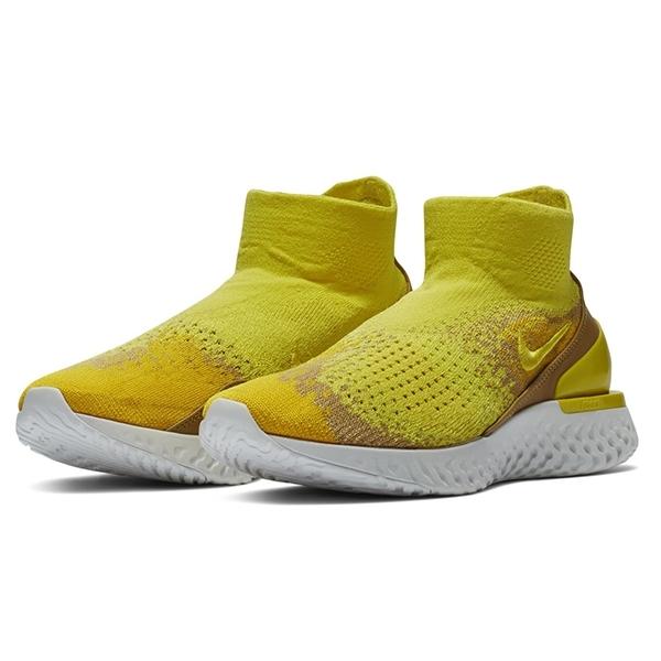 Nike Rise React Flyknit Tampil Keren Dalam Balutan Sonic Yellow