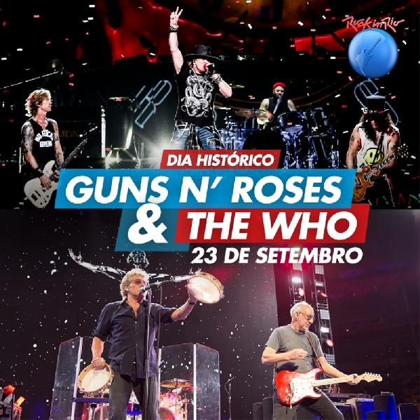 Semarakkan Festival Rock, GNR Dan The Who Konser Satu Panggung