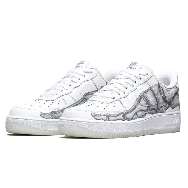 "Nike Ramaikan Halloween Dengan Air Force 1 ""Skeleton"""