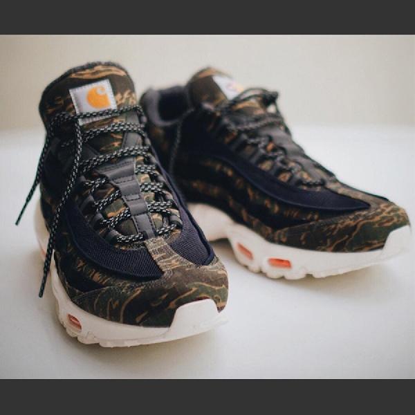 Mengintip Sneaker Air Max 95 Hasil Kolaborasi Nike dan Carhartt