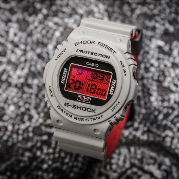 Casio dan Sneaker Freaker Ramaikan Halloween dengan G-Shock Redback