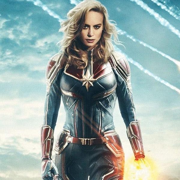 Simak Foto-foto Terbaru Produksi Film Captain Marvel