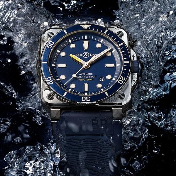 Kerennya Bell & Ross BR 03-92 Diver Blue