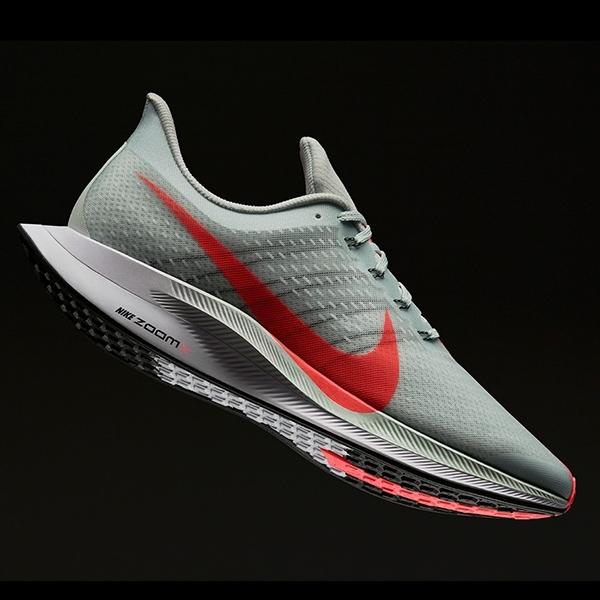 Nike Upgrade Zoom Pegasus dengan Bantalan ZoomX