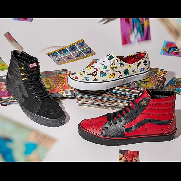 Vans Pasarkan Sneaker Avengers