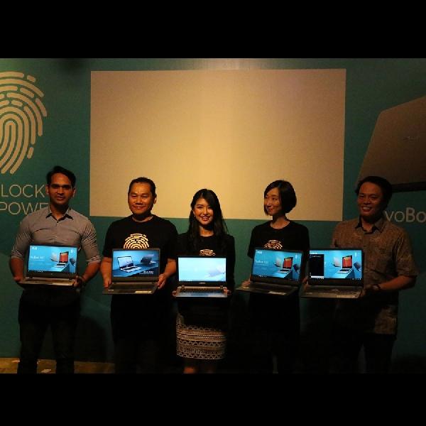 Asus Vivobook A407 Bawa Fitur Fingerprint