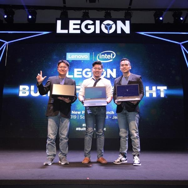 Lenovo Resmi Menjual 3 Laptop Gaming Legion dan IdeaPad L340 Gaming