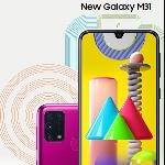 Samsung  M31 Quad Camera 64 MP dan Baterai 6000 mAh Ramaikan Awal Tahun 2020