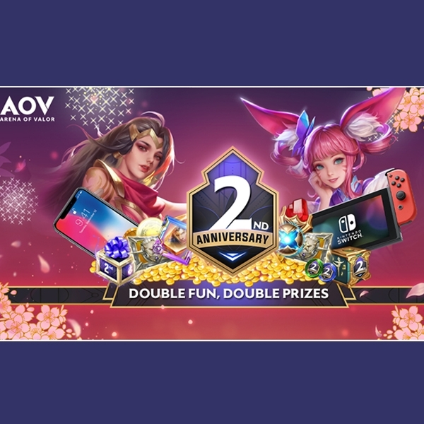 Hujan Hadiah di 2nd Anniversary Arena of Valor
