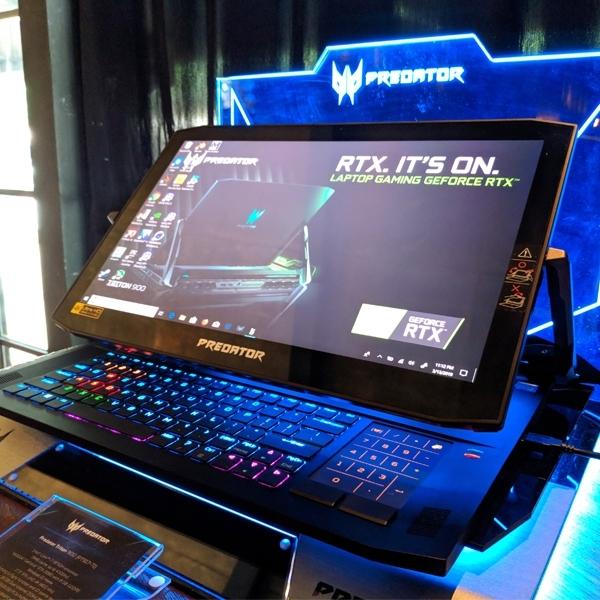 Acer Luncurkan Duo Predator Triton dengan Desain Inovatif