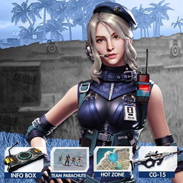 Wah, Ada Laura dan Senjata CG15 di Update Terbaru Free Fire!