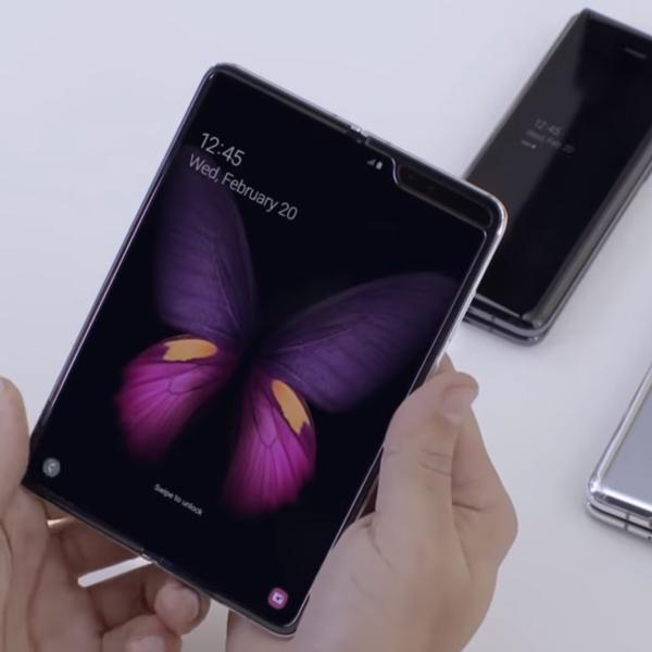Bos Huawei Sindir Desain Samsung Galaxy Fold