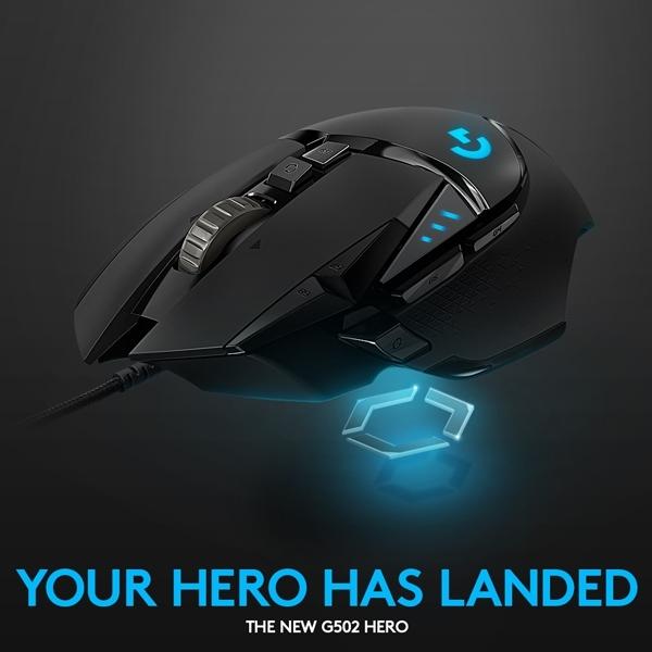 Logitech G502, Gaming House dengan Sensor Hero 16K
