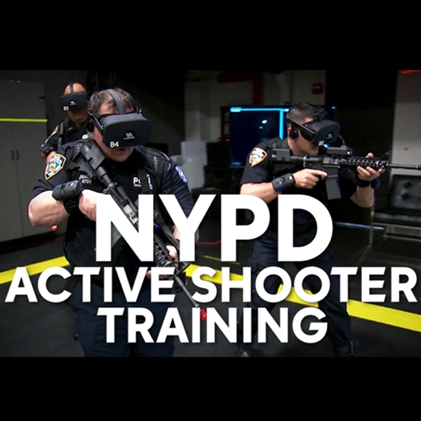 Pelatihan Polisi NYPD Kini Gunakan Teknologi Virtual Reality