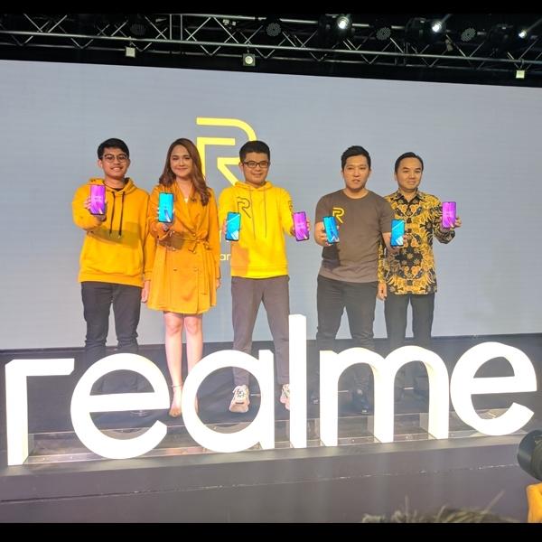 Realme 3 Pro dan Realme C2 Resmi Mendebut di Indonesia