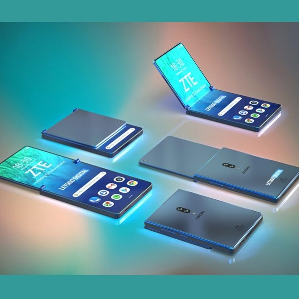 ZTE Segera Patenkan Desain Ponsel Lipat Vertikal