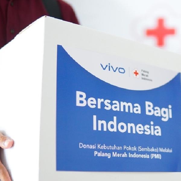 Vivo Gandeng PMI Salurkan Bantuan ke Masyarakat